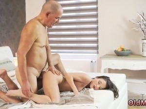 old man molests young girl