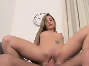 mature blonde first time anal audition
