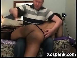 Wild Naughty Spanking Girl Masochiatic Sex