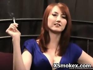mature smoking sex stepmom