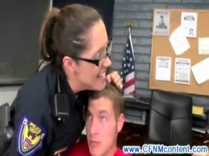 erotic police frisking free video