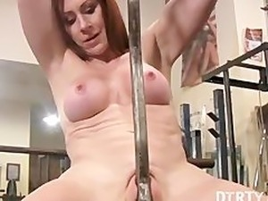 free porn naked gym