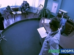 pussy cleaning at doctor