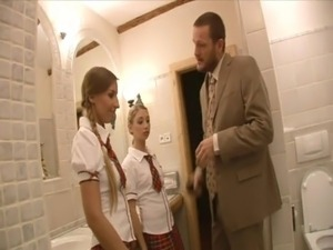 blonde school girls fucking