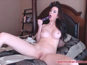 squeezing breasts video