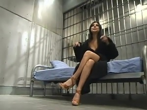 Naked girls in jail
