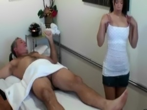 older asian masseuse video