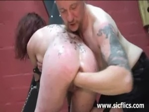 Slave girl fist fucked till she screams free