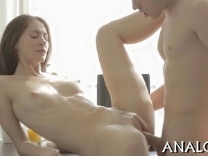 Sensational pain pleasures for gorgeous babes anal canal