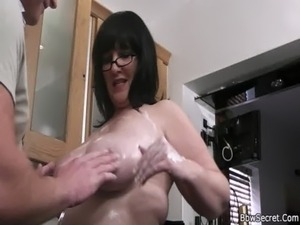 husband and wife fuck the sitter