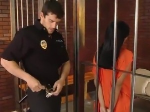 interracial jail house sex