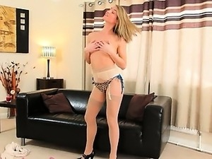 sex high heels breasts