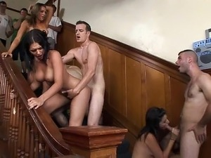 anal sex party