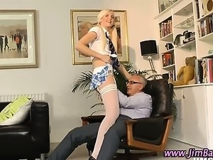 sexy school girl gets naked