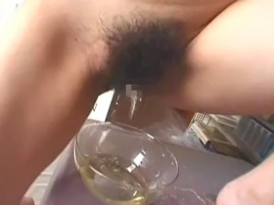 pissing in pregnant womans pussy