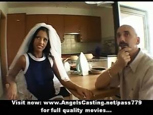 bride groom threesome sex