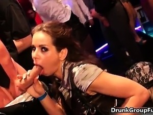 drunk party hot girl
