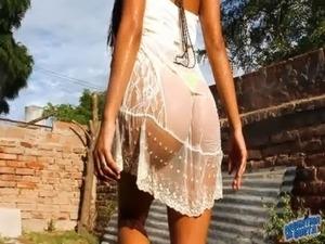 stripping blowjob video