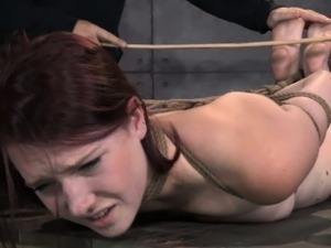 severe pussy caning video