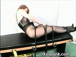 Entertaining Bdsm Chick Spanked Hot