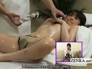 young japanese massage fuck