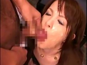uncensored busty asian bukkake videos