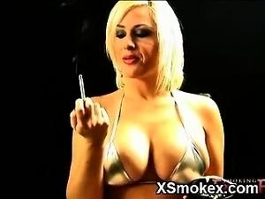 smoking black babes