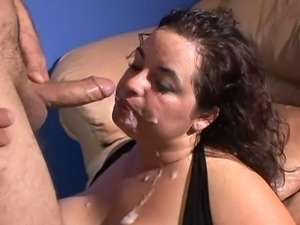 wife getting facial by black