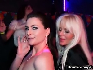 amateur lesbian drunk after party