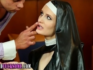 Naked nun sex