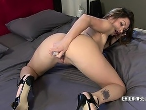 woman toying mans ass video