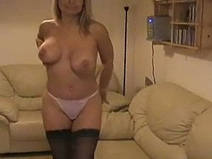 naked girl in stockings