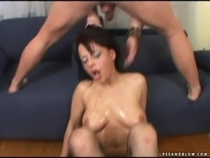 oral sex vomit video