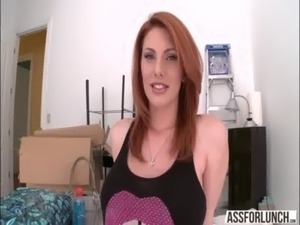 interracial lesbian redhead