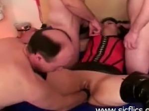 free gang bang wife videos