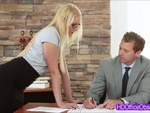 black secretary sex