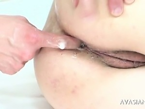 japanese anal creampie orgy