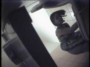 Lesbians having sex bathroom