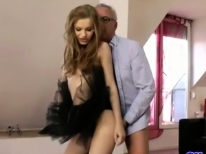 lick my pussy old man