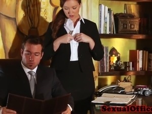 boss milf office fuck video