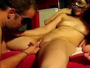 Get a load of these sluts as they perform a simultaneous cock sucking in bed....