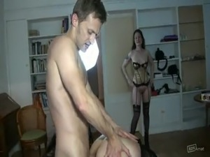 strap on anal sex