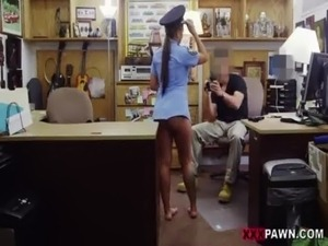 Police officer forces girl to strip naked