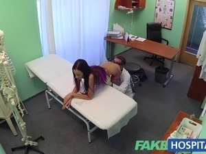 pictures girl getting a physical exam