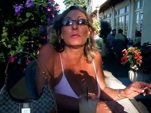 The Hottest Amateur Cougar-Mature-MILF #51 (Nice Cleavage!)