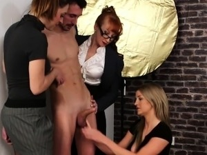 cfnm girls blowjob