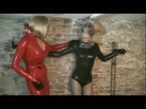 tight latex pussy rubber slave