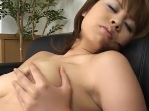 video girl using bullet vibrator
