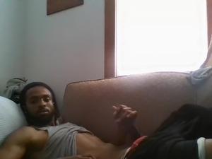 guy jerks all over girl video