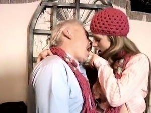 old man and young girl fucking